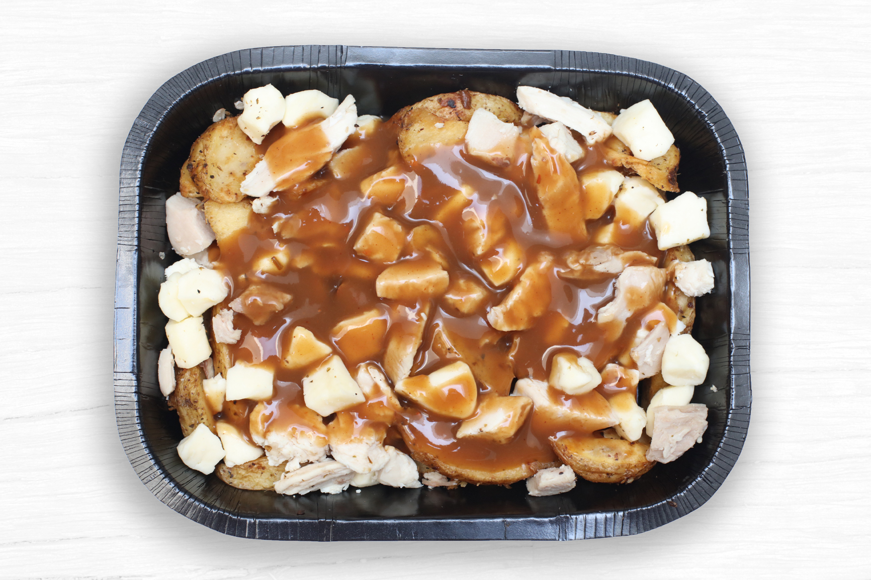CHICKEN POUTINE