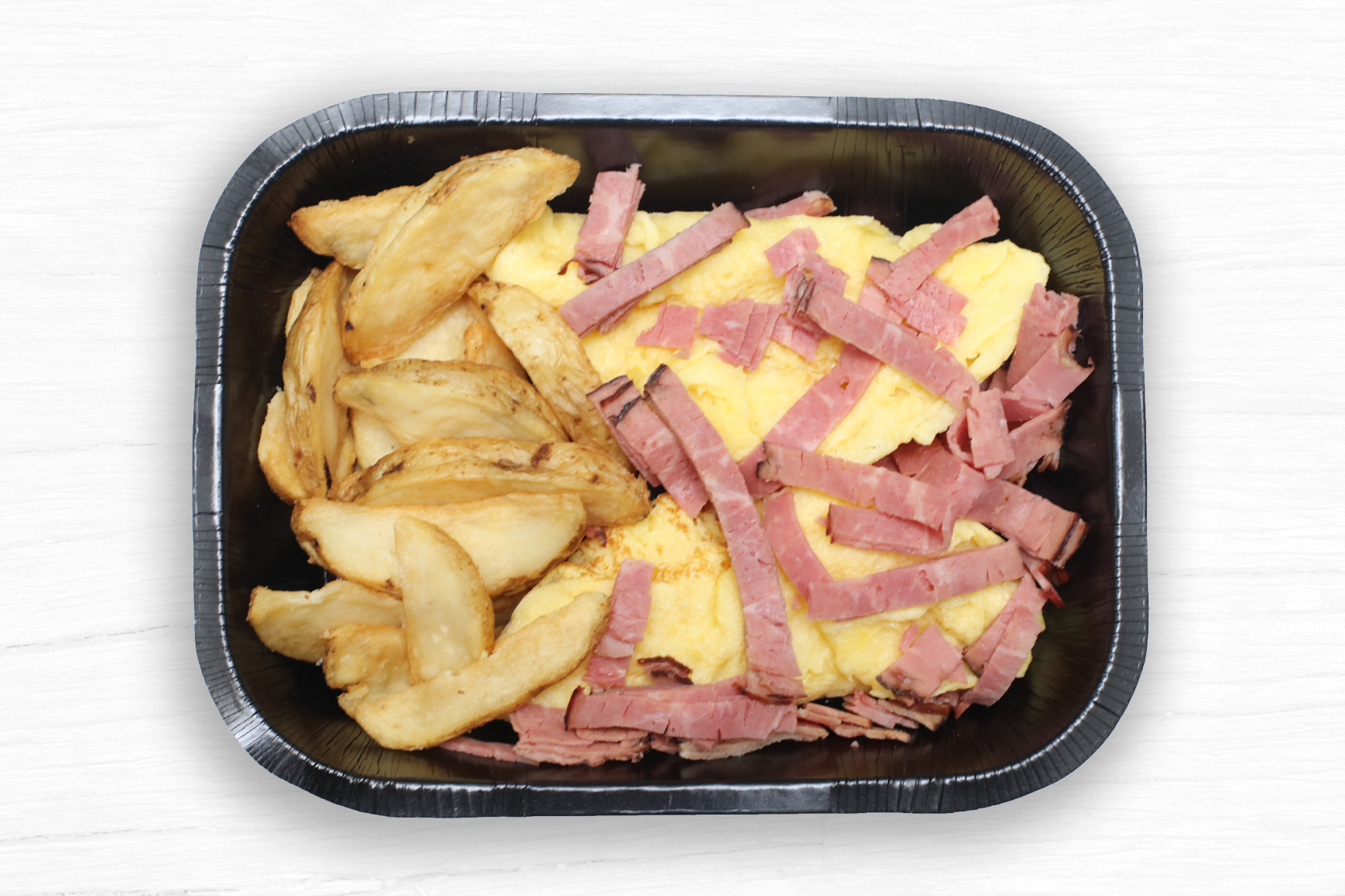 SMOKED MEAT OMELETTE