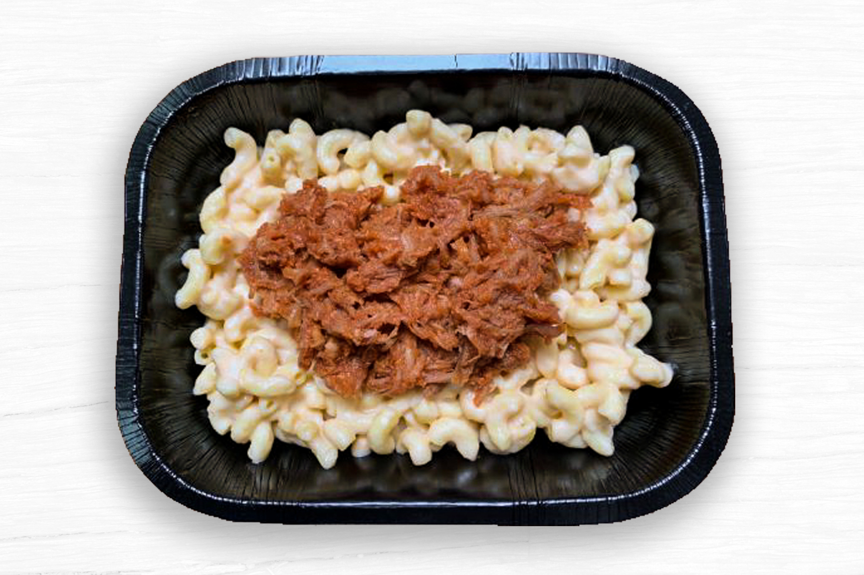 MACARONI LUXURY CHEESE (BBQ PORK)
