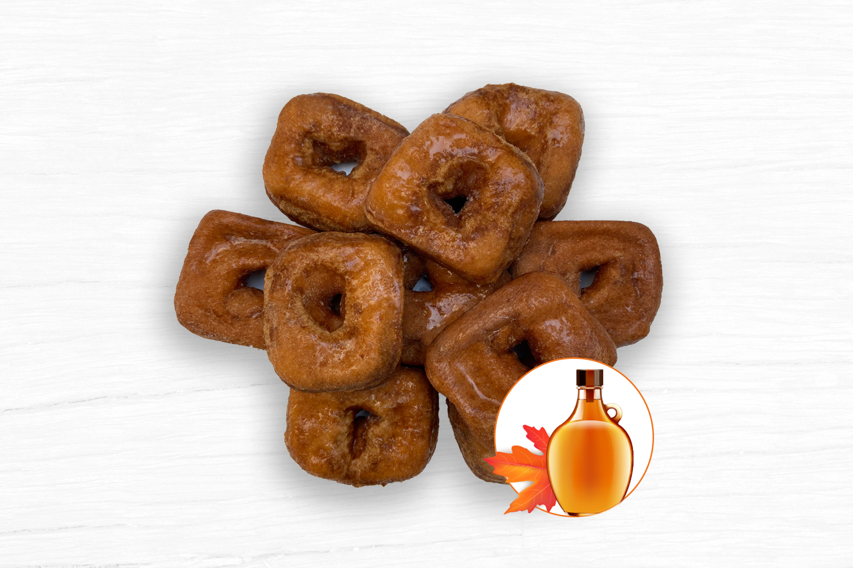 DONUTS WITH SYRUP (10 un.)